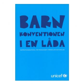 Barnkonventionen i en låda UNICEF