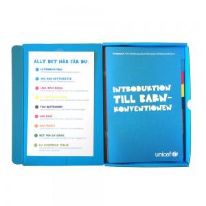 Barnkonventionen i en låda