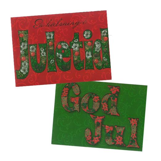 Julkort Juletid - UNICEF